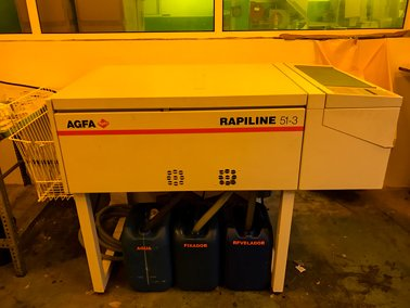 Processadora Agfa Rapiline 51 Tipo 3