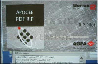 Software RIP Agfa Apogee PDF RIP Series 2 V2