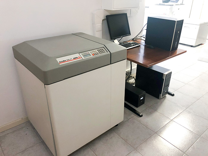 Máquina de Fotolitos Agfa Accuset RIP Agfa