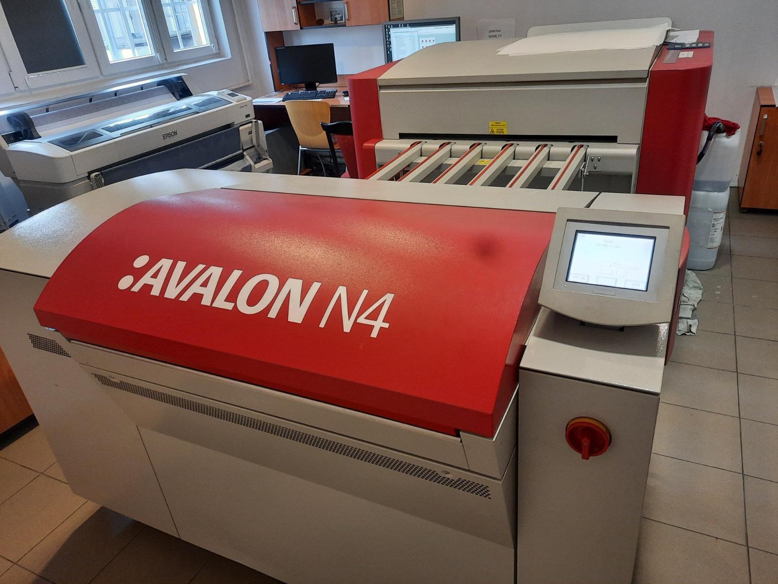 CTP Térmico Agfa Avalon N4