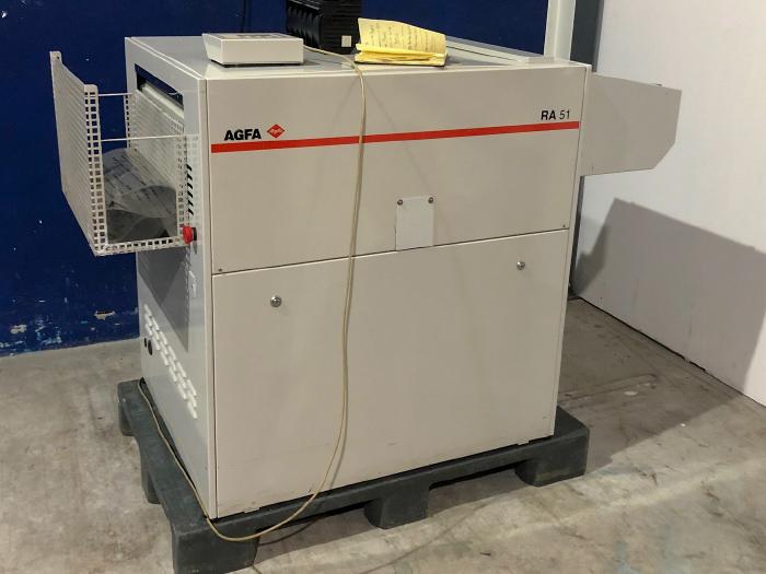 Processadora Agfa RA 51