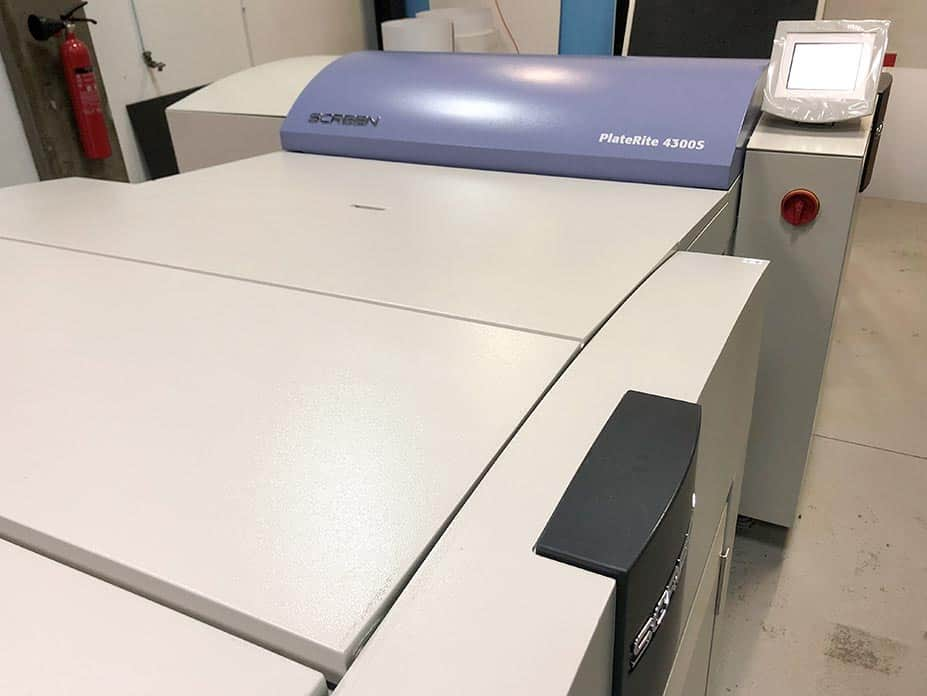 CTP Screen PlateRite 4300S